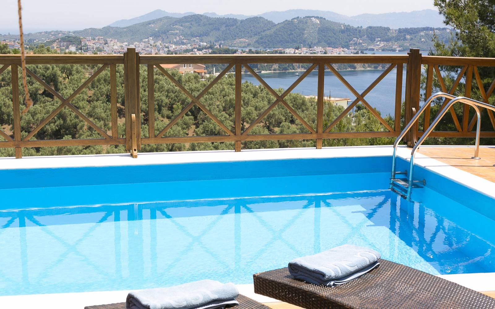 Europa villa, Skiathos Gea Villas, Skiathos, villas, pool, hotels ...